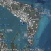 Mouillages Google earth